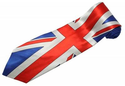 UNITED KINGDOM TIE GREAT BRITAIN FLAG NECKTIE #01