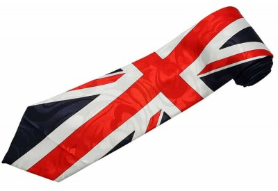 UNITED KINGDOM TIE GREAT BRITAIN FLAG NECKTIE #02