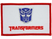 TRANSFORMERS COMIC EMBROIDERED PATCH #02