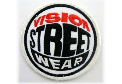 VISION STREET PUNK & ROCK EMBROIDERED PATCH