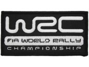WRC FIA WORLD RALLY RACING EMBROIDERED PATCH #01