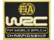 WRC FIA WORLD RALLY RACING EMBROIDERED PATCH #02