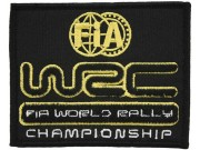 WRC FIA WORLD RALLY RACING EMBROIDERED PATCH #03