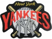 MLB BASEBALL NEW YORK YANKEES EMBROIDERED #24