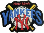MLB BASEBALL NEW YORK YANKEES EMBROIDERED #25